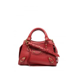 BalenciagaNeo Classic Mini Leather Handbag