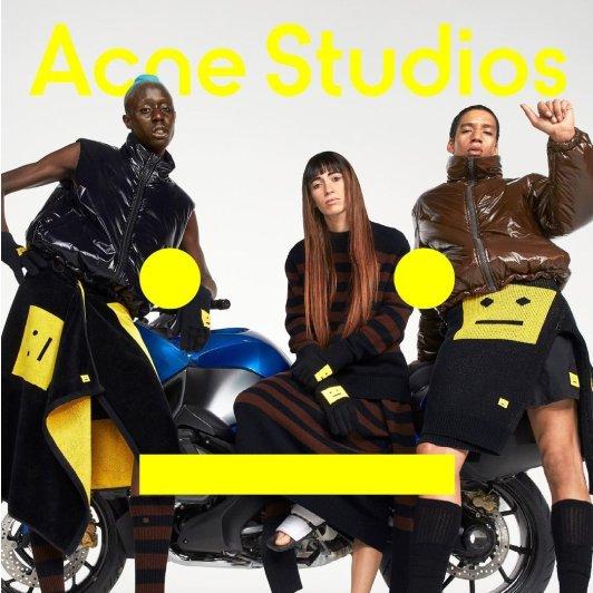 Acne Studios官网 FW21秋冬Face系列推出Acne Studios官网 FW21秋冬Face系列推出