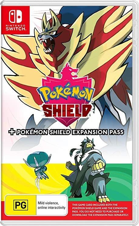 Pokemon Shield + 赛季票 新DLC
