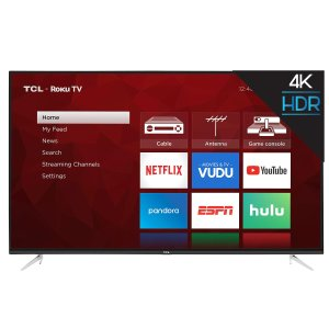 TCL 65吋 Roku 高清4K智能电视