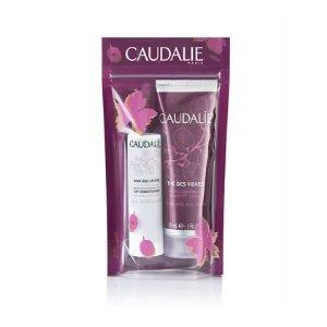 Caudalie30ml护手霜+4.5g唇膏护手霜+唇膏套装