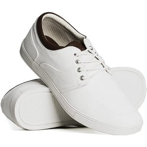 $29.99(原价$39.99)Boathouse 男士基础款小白鞋 8-13码全 百搭可涂鸦