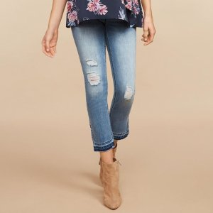 Starting at $10.44Last Day: Maternity Jeans Sale @ Motherhood