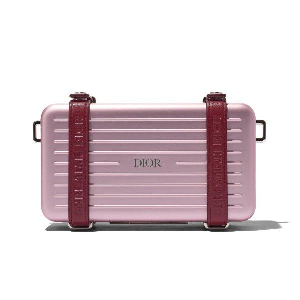 联名小旅行箱 粉色