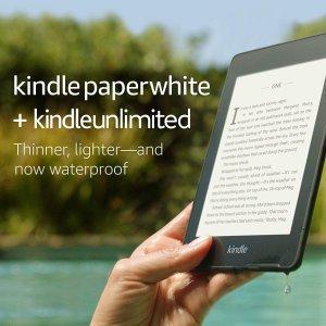 最高立省$50还送$5电子书代金券Kindle 大促 送3个月免费Kindle Unlimited 订阅