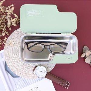 仅€9.99起收 小巧实用Amazon 超声波清洁机 360°全面高频清洁 眼镜、首饰均可用