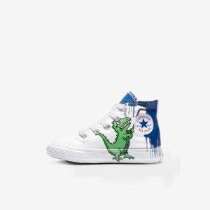 包邮 童鞋$13.98起 收小恐龙Converse官网 全场儿童服饰鞋履低至5折+额外7折大促,妈咪来穿大童款