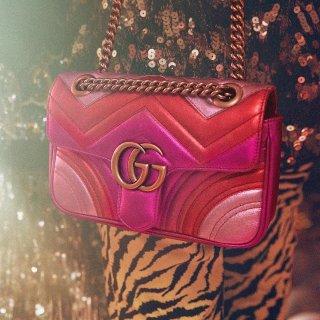 定价优势  双G腰带补货手慢无上新:Gucci秋季新品包包鞋履热卖  收经典Marmont包包