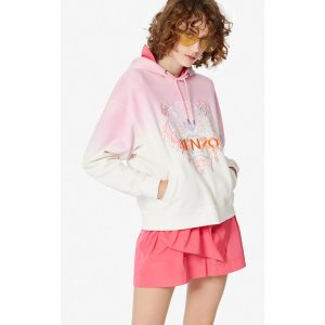 KenzoGradient hooded Tiger sweatshirt
