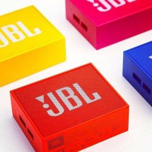 $39(原价$49)JBL GO 音乐金砖 迷你无线蓝牙音响