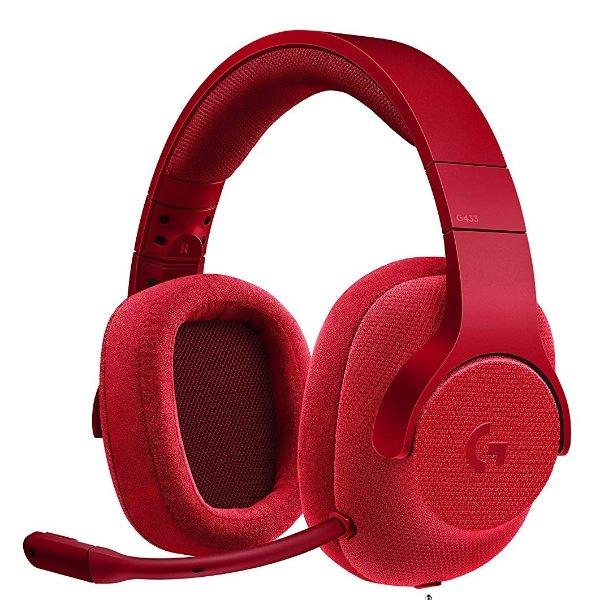 G433 7.1声道 有线游戏耳麦 支持PC/游戏主机