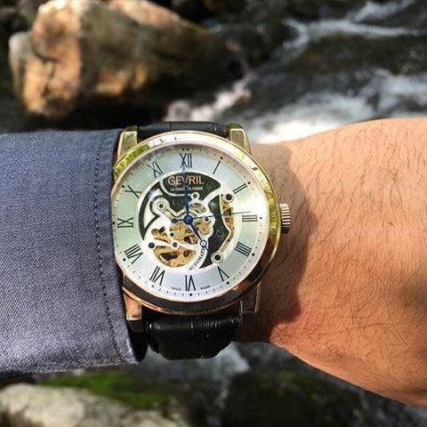 Extra $300 OffGEVRIL Vanderbilt Automatic Men's Watches 3 colors