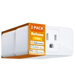 Refoss WiFi 智能插座 2个装