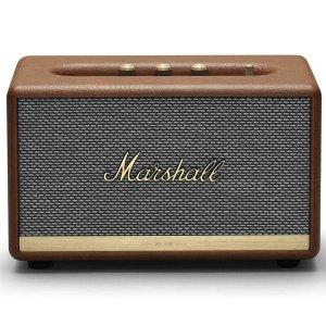 $249.99(原价$336.07)Marshall Action II 复古无线智能音箱