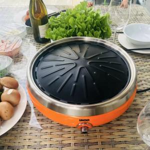 售价€59 韩国烧烤躁起来Unold 多用烧烤炉 同时get电烤炉和和电磁炉 功率大热的快