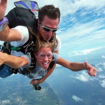 佛州Orlando Skydiving Center  12000英尺跳伞