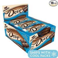Dove 100卡路里 牛奶丝滑巧克力 0.65oz 18条