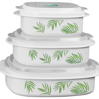 $11.99Corelle 康宁合作款微波餐具,保鲜盒6件套