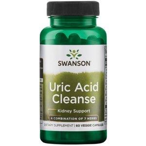 Swanson Uric Acid Cleanse 60 Veg Caps