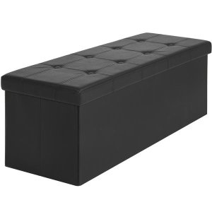 $34.99Best Choice Products Faux Leather Folding Storage Ottoman Bench