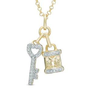 低至2.5折+免邮 一律$29.9Zales 情人节礼物特辑 收敲可爱封面款项链、桃心耳饰