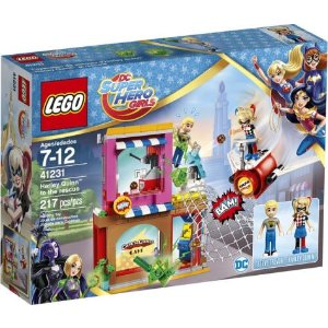 LegoLEGO DC Super Hero Girls Harley Quinn to the Rescue 41231