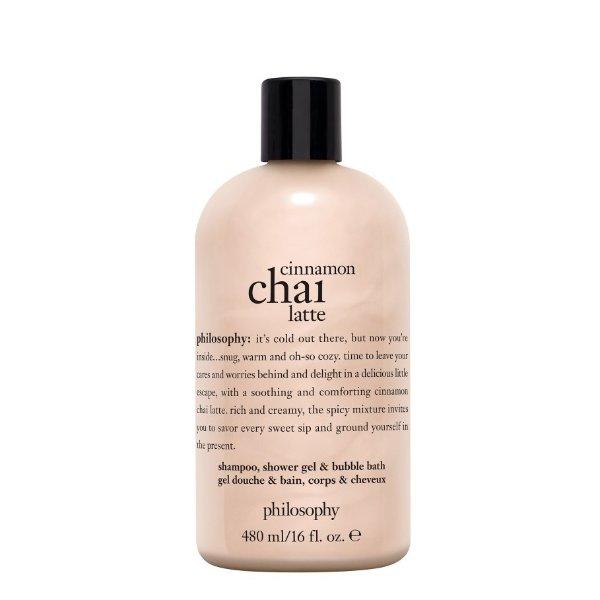 洗发沐浴二合一 泰式肉桂拿铁