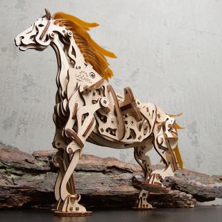 新增赤兔马、2018家庭选择奖手摇琴上新:UGEARS 3D 木质立体插图8折包邮 自驱动力 体验拼插的乐趣