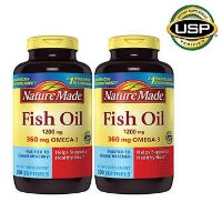 Nature Made 鱼油 1200 mg., 400 粒