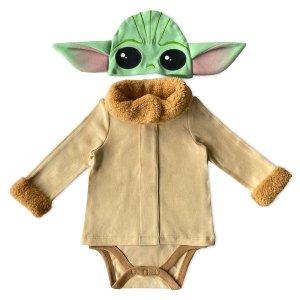 Disney星战尤达大师婴儿装扮服饰