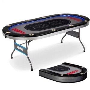 $159.99(原价$399.99)ESPN 可折叠式娱乐休闲游戏桌 最多10人
