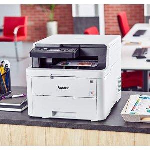 $349.99(原价$417.83) 弹指之间轻松工作Brother 兄弟HL-L3290CDW 彩色无线打印、复印、扫描一体机