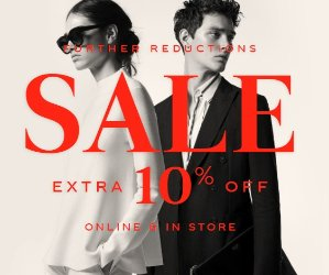 Up to 50% off+Extra 10% offSale Items @ REISS