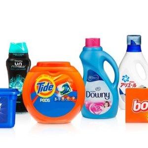 买2件立减$5+额外8折Amazon 精选家居日用消耗品热卖 汰渍81颗洗衣球仅$12.5