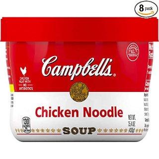 $9.58 午餐夜宵好搭档Campbell's 便携鸡肉汤 15.4 oz 8罐