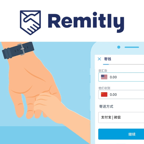 Low transfer fee + safe & instant remittanceInternational Remittance Powerful Tool, Remitly. Safe, Affordable and  convenient