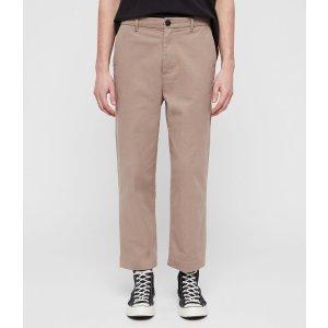 AllSaints男士直筒裤