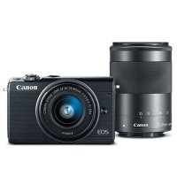 Canon EOS M100 + 15-45mm + 55-200mm 无反相机套装