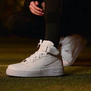 部分可叠加9折+免邮最后一天:Nike Air Force 1 男女新年精选热卖