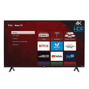$399.99(原价$499.99)TCL 50'' 4K UHD LED 智能电视 国产品牌之星