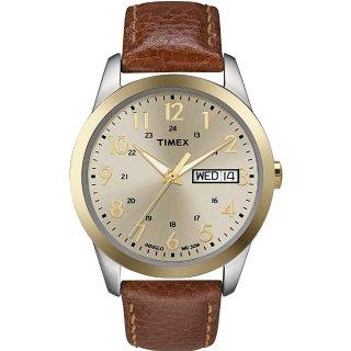 $9 (原价$41.45)白菜价:Timex 男士简约街头风时尚腕表
