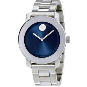 Dealmoon Exclusive: Movado Bold Blue Dial Stainless Steel Women's Watch