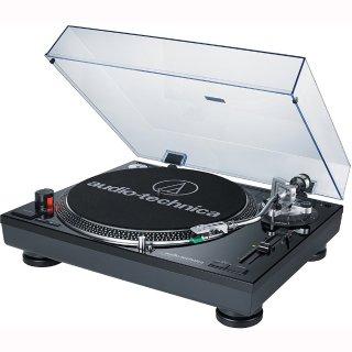 $229(原价$299) 两色可选Audio-Technica ATLP120USB 直驱USB黑胶唱片机