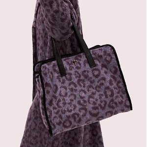 kate spade Leopard and Plaid Totes on Sale