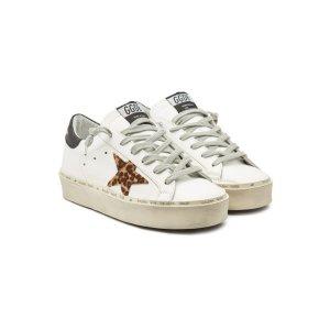 GOLDEN GOOSE豹纹星Sneakers