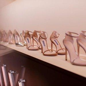 低至2.5折 $160收高跟凉鞋闪购:Stuart Weitzman 美鞋清仓专场 $239收一字带凉鞋