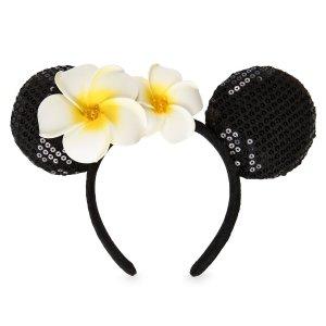 DisneyMinnie Mouse Ear Headband with Plumeria - Aulani, A Disney Resort & Spa   shopDisney