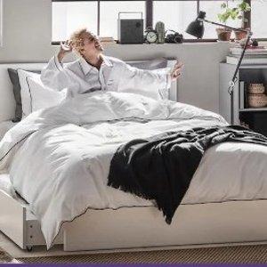 8.5折开学季:Ikea 官网床垫促销  让你的睡眠不再将就