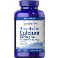 Puritan's Pride 1200mg 钙片 + 维生素D3