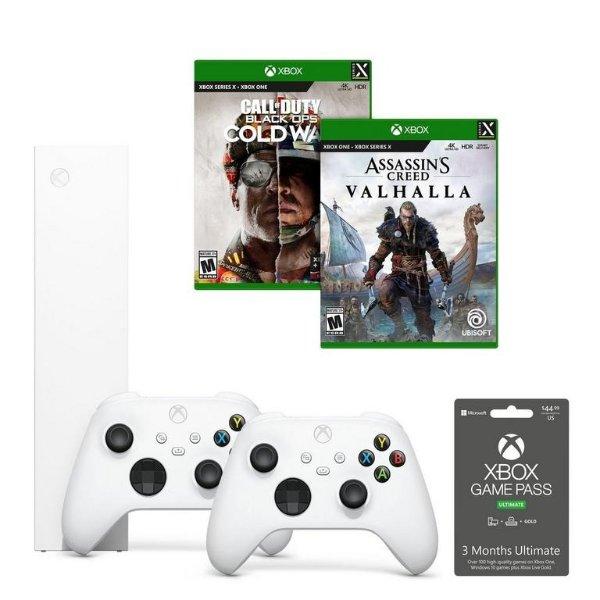Xbox Series S COD + 刺客信条 + 1额外手柄套装
